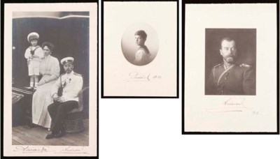 Three Imperial photographs