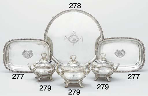 A set of three George III silv