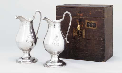 A pair of George III silver ju