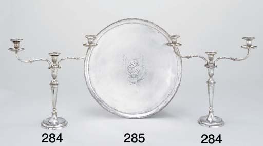 A pair of George II/William IV
