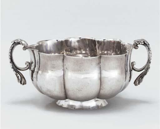 A Guatemalan silver bowl