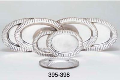 A German silver serving-dish