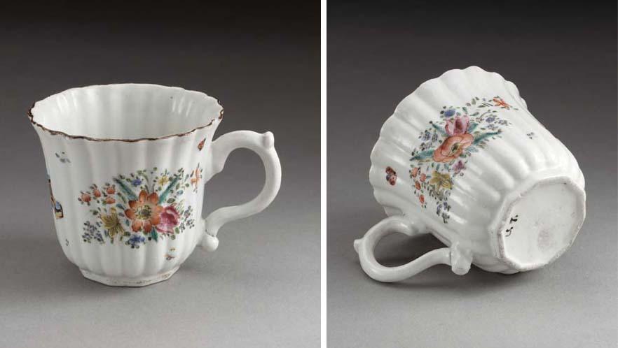 An 'A'-mark porcelain coffee-c