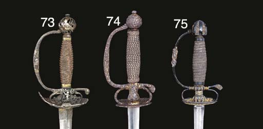 TWO CONTINENTAL SMALL-SWORDS W