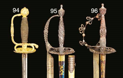 AN ENGLISH SMALL-SWORD