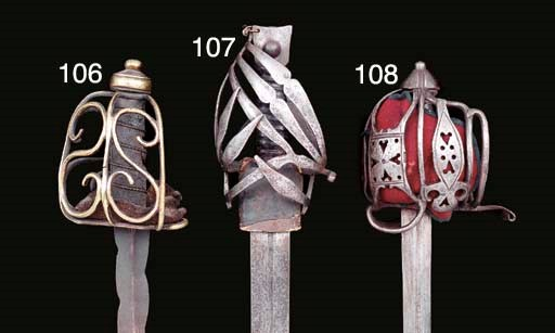 AN ENGLISH CAVALRY SWORD WITH