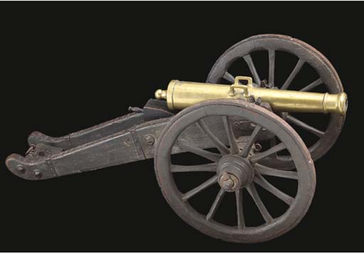 A MODEL OF A FRENCH 6-PDR FIEL