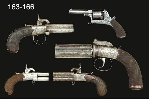 AN UNUSUAL 140-BORE FIVE-SHOT