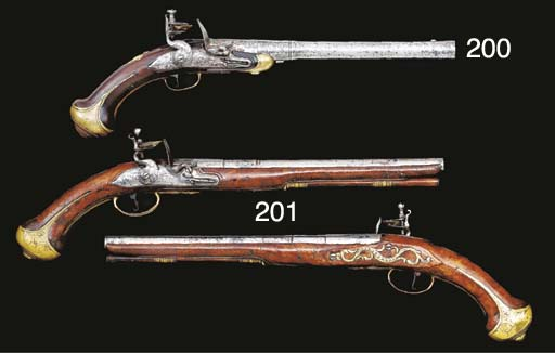AN UNUSUAL FLINTLOCK TURN-OFF