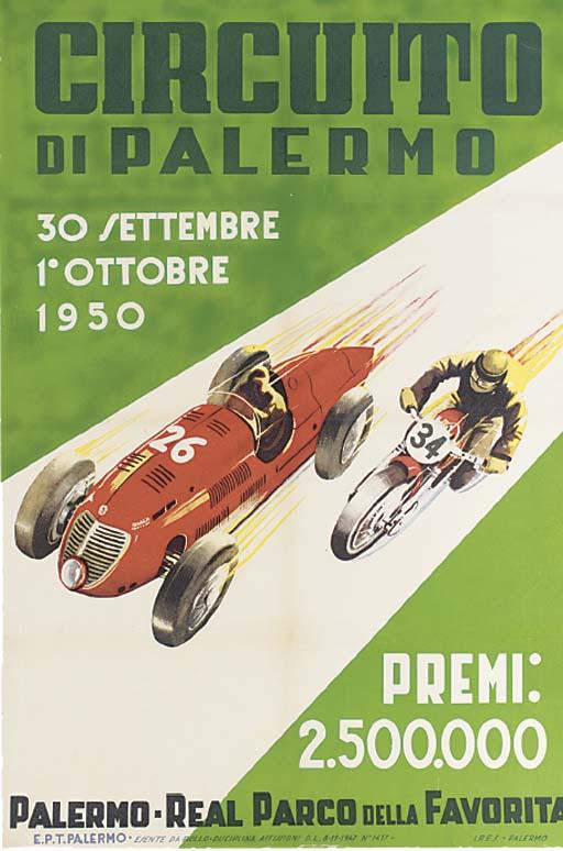 Palermo Grand Prix 1950 - A ra