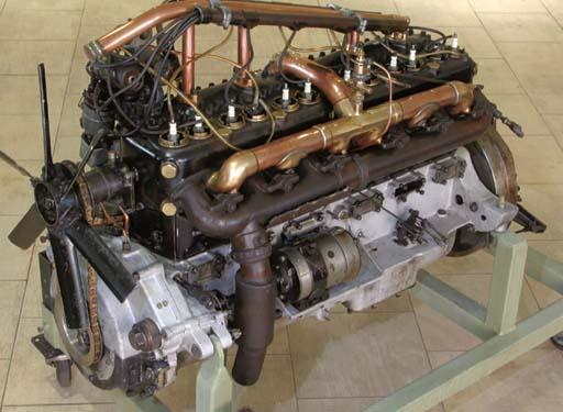 A Rolls-Royce 40/50hp Engine