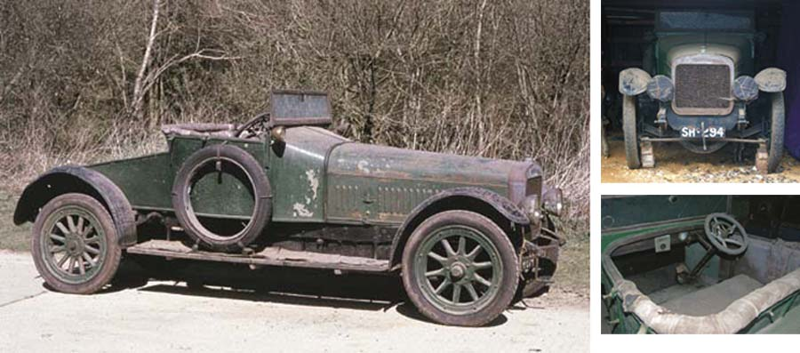1907 NAPIER 60HP TYPE 21 TWO-S