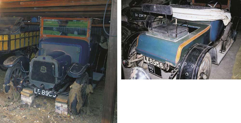 1912 MORS MODEL NX 12/15HP TWO