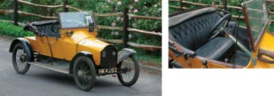1913 HUMBERETTE 8HP TWO SEATER