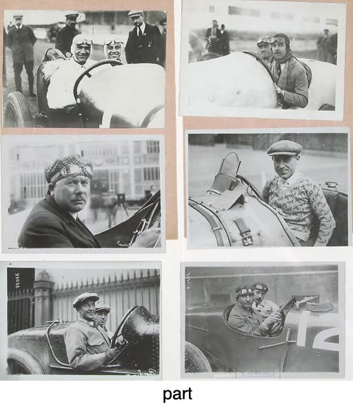 European Racing drivers and Pe
