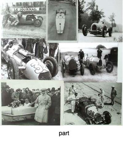 Bugatti & French Racing Cars 1