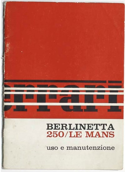 Ferrari 250 Le Mans Berlinetta