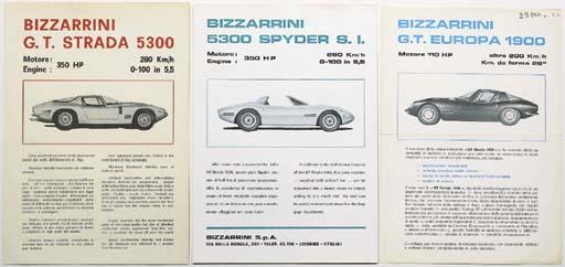 Bizzarrini GT 5300 - Two rare