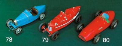 Bugatti - A tinplate toy model