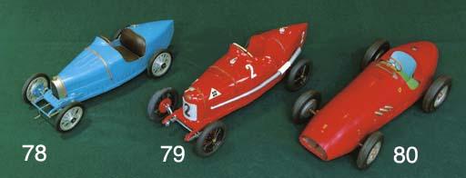 Ferrari 500 - A cast alloy toy