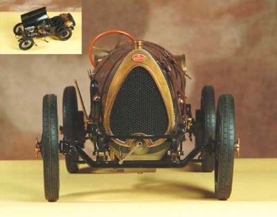 Bugatti T13 Brescia: 1/8 scale