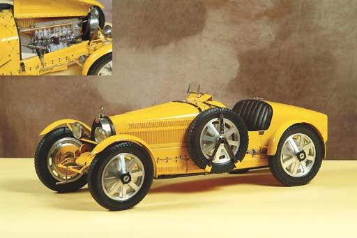 Bugatti Grand Prix T35B: 1/8 s