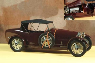 Bugatti T43 Grand Sport: 1/8 s