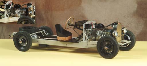 Bugatti T57: 1/8 scale rolling chassis | Christie's