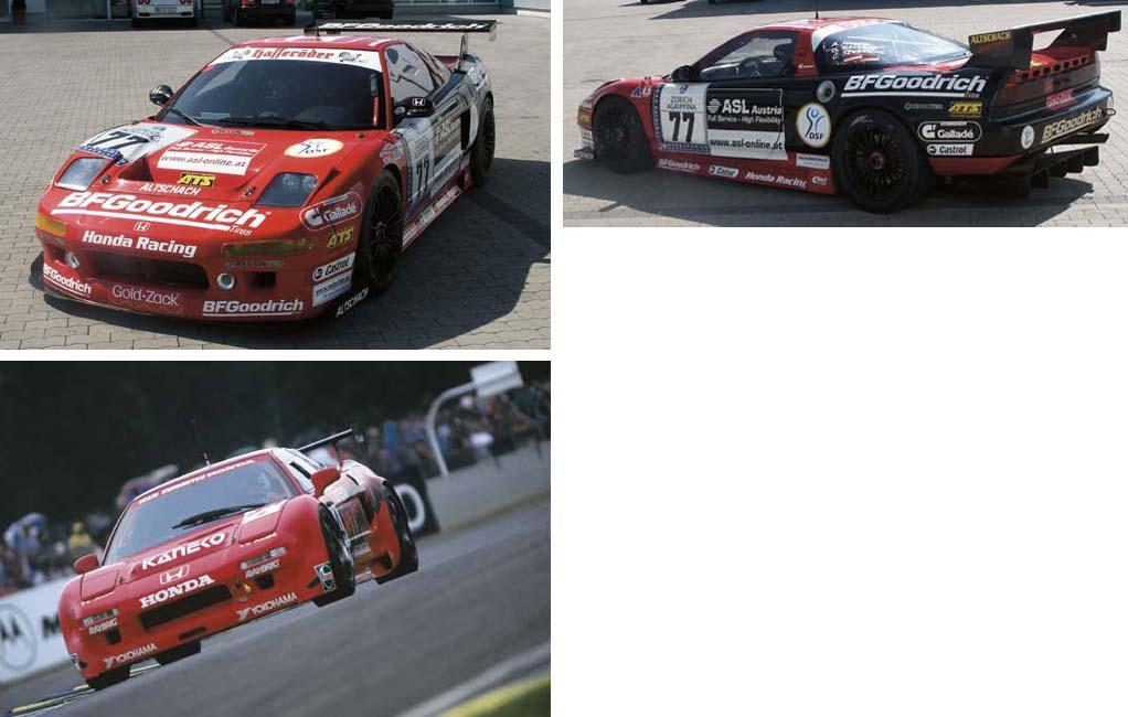 Ex-Works 1995 Le Mans Class Wi