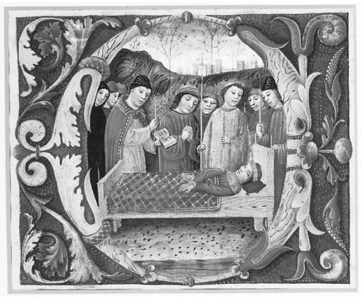 FUNERAL SERVICE, in an initial