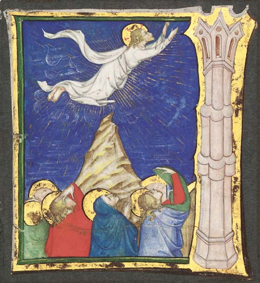 ASCENSION OF CHRIST, beside an