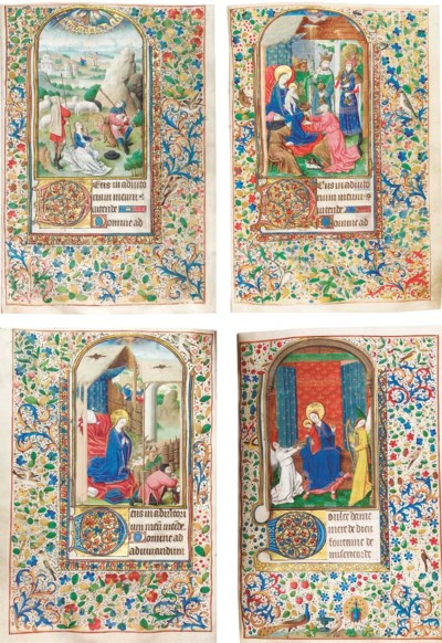 BOOK OF HOURS, use of Troyes,