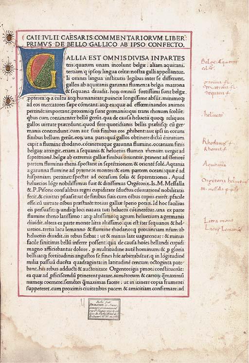 CAESAR, Gaius Julius (100-44 B