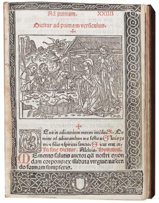 Officium beate Marie virginis secundum consuetudine Romane curie. Milan: Antonius Zarotus, 8 January 1502.