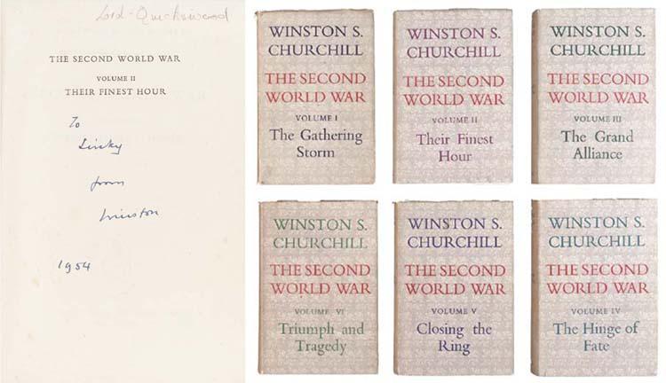CHURCHILL, Sir W.L.S. The Seco