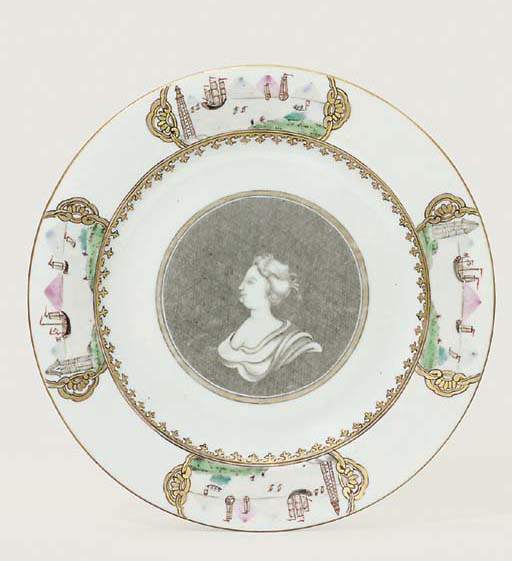 A RARE GRISAILLE AND ENAMELLED