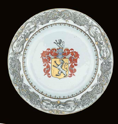A GRISAILLE, ENAMELLED AND GIL