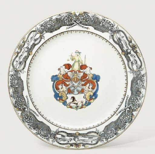 A GRISAILLE AND ENAMELLED ARMO