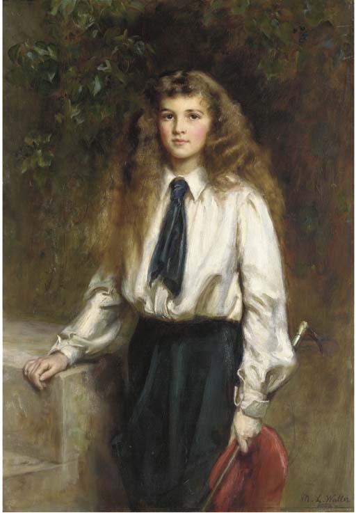 Mary Lemon Waller, née Fowler
