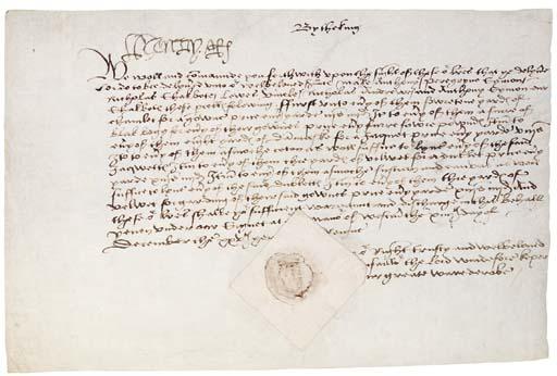 HENRY VIII, King of England (1