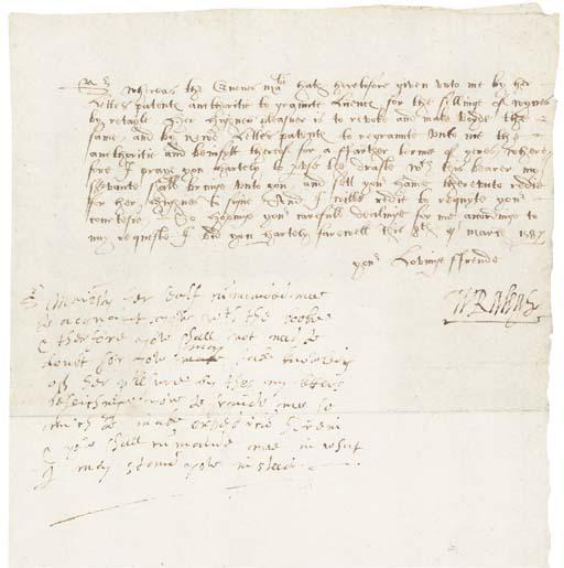 RALEGH, Sir Walter (1522?-1618