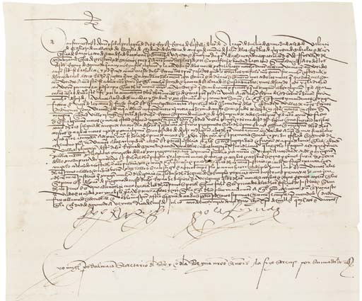 FERDINAND V (1452-1516) and IS