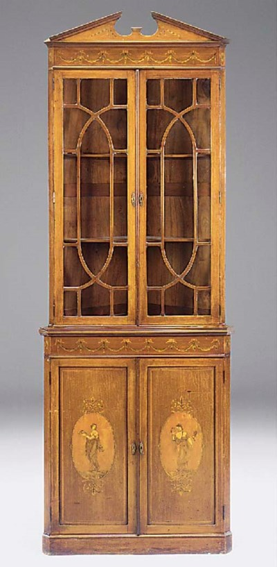 An Edwardian mahogany and marq