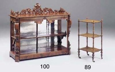 An early Victorian mahogany bu