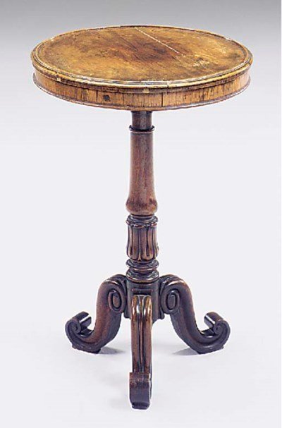 A William IV rosewood occasion