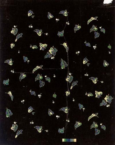 Nine designs for black dress s