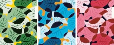 Seven Jazz age textile designs