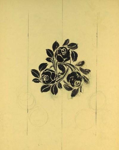 Raoul Dufy, five designs of la