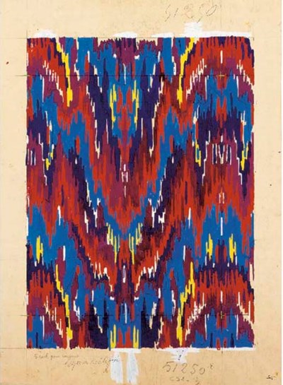 Raoul Dufy, Design no. 51250,