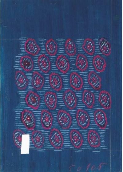 Raoul Dufy, Design no. 50868,